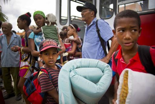 Matthew castiga al este de Cuba: más de 1,3 millones de evacuados