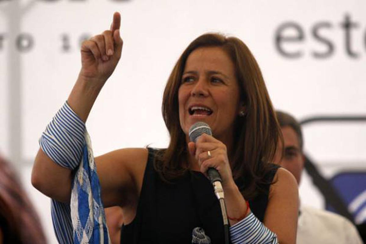 Todos los partidos son corruptos: Margarita Zavala