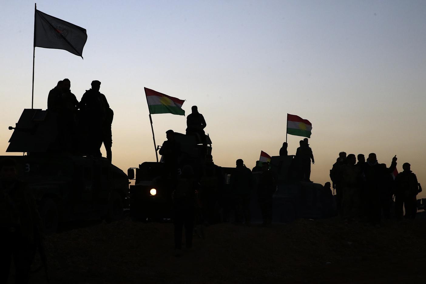 Daesh utiliza personas como escudos humanos en Mosul