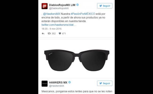 Los Diablos Rojos también 'batean' a marca española por tuit polémico