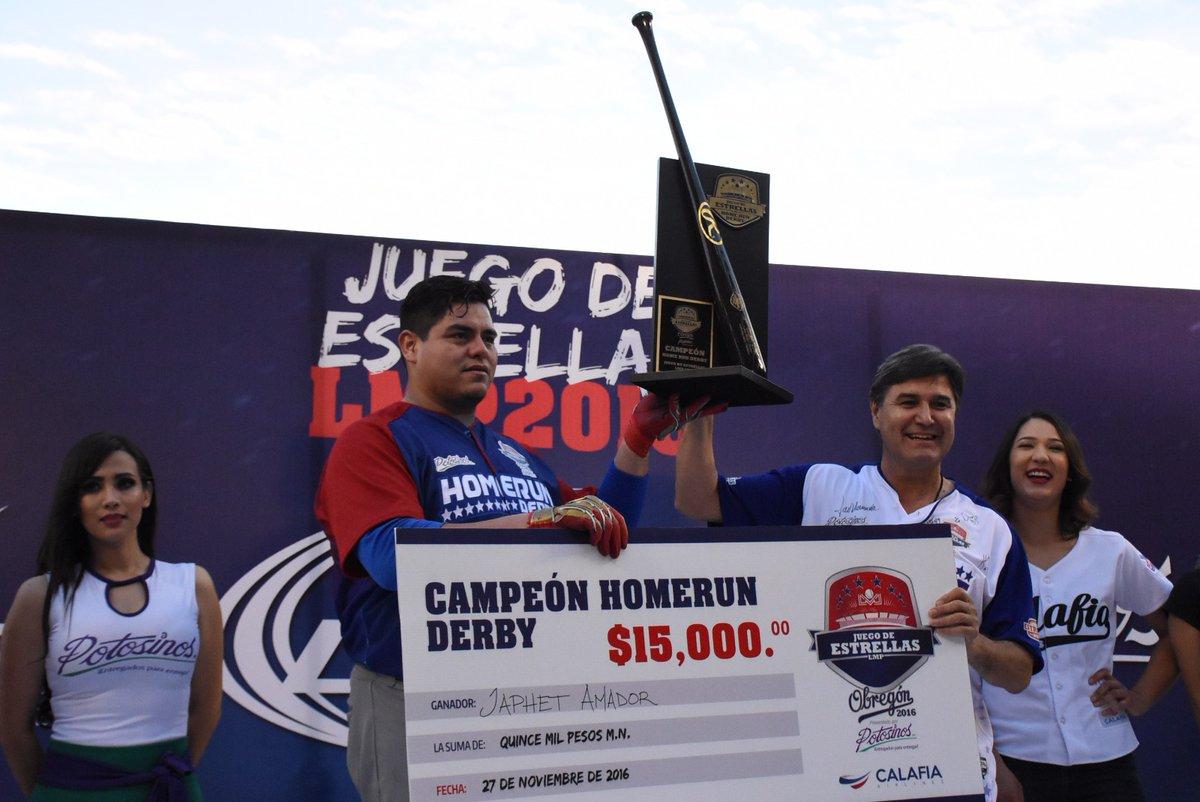 Japeth Amador campeón del Home Run Derby 2016